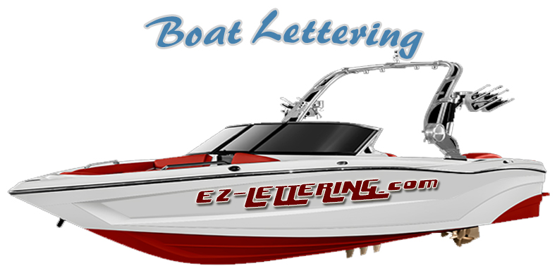 create boat lettering free shipping